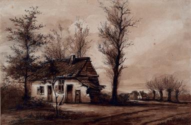 RI-691 De overblijfselen van het klooster Zuidwinden of Zijdewinde aan de Beukelsdijk.