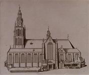 RI-694 Grote Kerkplein.Grote Kerk 1621-1645.