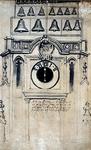 RI-702A Bovenste gedeelte toren Grote Kerk na de verbouwing in 1651.