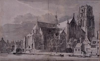 RI-704 Binnenrotte.De Grote kerk.