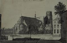 RI-708 De Grote Kerk aan de Binnenrotte 22 juli 1751.