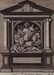 RI-733 Praalgraf voor B. Cortenaer in de Grote Kerk aan het Grotekerkplein.