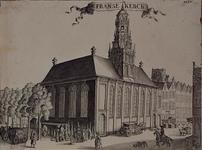 RI-773 De Franse Kerk aan de Hoogstraat, de hoek vanaf de Korte Hoogstraat.