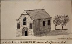 RI-780 De Lutherse kerk op het Colchoseiland aan de Goudsesingel.