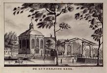 RI-791 De Lutherse kerk en de Keizersbrug vanaf de Noordblaak.