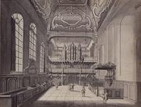 RI-793 Het interieur van de Lutherse Kerk aan de Wolfshoek - Blaak.