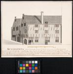 RI-800 Huizen van de Gemeente der Rijnburgse Collegianten aan de Convooisteeg.
