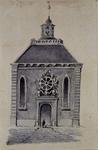 RI-812 De Engels Presbyteriaanse kerk aan het Haringvliet; aan de noordzijde.