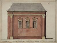 RI-824 Noordzijde van de Engelse Episcopaalse kerk aan de Haringvliet.