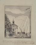 RI-825 Voorzijde van de Engelse Episcopaalse kerk aan de Haringvliet.