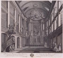 RI-830 Interieur Roomse kerk aan de Leeuwenstraat.