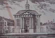 RI-833 Onuitgevoerd ontwerp van een Roomskatholieke kerk aan het Steiger.
