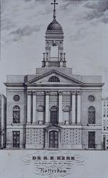 RI-836 De Roomskatholieke Sint Dominicus kerk aan de Hoogstraat.