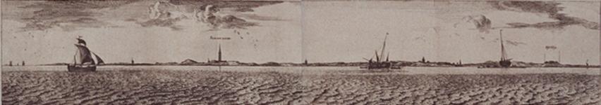 RI-84-7-8-II Oever Maas aan Brielse zijde deel 7 en deel 8 naast elkaar.