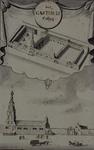 RI-843 Het Gasthuis aan de Hoogstraat met daarboven het gasthuis in vogelvlucht.
