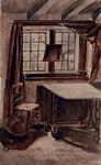 RI-848 De keuken, uitzigt hebbende op de binnenplaats in het Oude Gasthuis aan de Hoogstraat