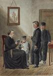 RI-872-1 Kleding der jongens in het R.K. weeshuis aan de Schiedamsedijk.