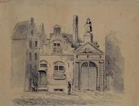 RI-885 Poortje van het Oude Vrouwenhuis aan de Hoogstraat.