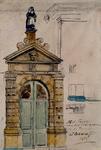 RI-886 Het Poortje van het Vrouwehuis op de Hoogstraat (wijk 11 nr. 386)