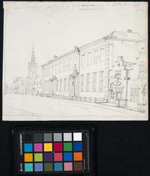 RI-889 Het Pest- en Dolhuis aan de Hoogstraat.