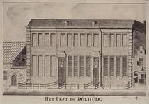 RI-891 Het Pest- en Dolhuis aan de Hoogstraat.