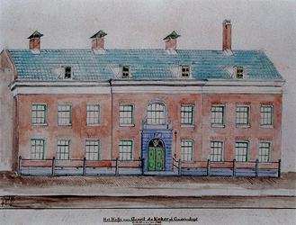RI-905 Hofje van Gerrit de Koker 1786.
