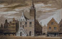 RI-933 Het Stadhuis aan de Hoogstraat.