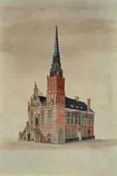 RI-935 Het Stadhuis aan de Hoogstraat.