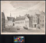 RI-965 Het oude Prinsenhof, vroeger Agnietenklooster, anno 1574.