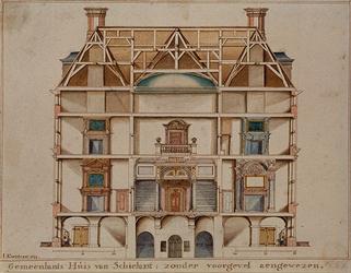 RI-985-1 Het Schielandshuis aan de Korte Hoogstraat.