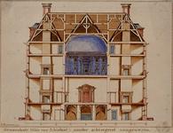 RI-985-2 Achterzijde van het Schielandshuis in de Korte Hoogstraat.