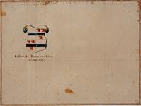 RISCH-102-2 Het wapen van Aelbrecht Storm van Wena in 1611.