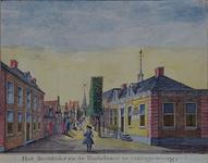 RISCH-111 Het Raadhuis in de Kerkstraat te Hillegersberg.