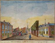 RISCH-112 Het Rechthuis en de Kerkstraet te Hillegersberg.