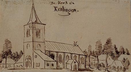 RISCH-118A De kerk van Kralingen .