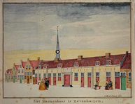 RISCH-157 Het Mannenhuis te Zevenhuizen.