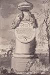 RISCH-160-1 Gedenkzuil Oldenbarnevelt op de Endeldyk te Naaldwijk.