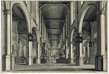 RISCH-209 De Grote Kerk of de Jans Kerk in Gouda.