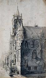 RISCH-218 Stadhuis te Gouda.