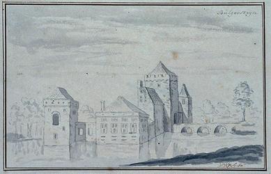 RISCH-30 Kasteel Bulgersteijn circa 1071.