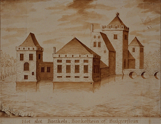RISCH-31 Het slot Boukels, Boukelstein of Bulgerstein.