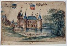 RISCH-32 Het slot Bulgersteijn in de 14e eeuw