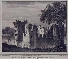 RISCH-38 Het slot Bulgerstein bij de Bulgersteyn.