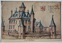 RISCH-42 t huijs te Cappelle 1671 Het slot te Capelle aan den IJssel.