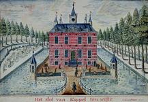 RISCH-46 Het slot van Kappel ten westen.