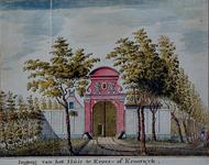 RISCH-53 Ingang van het Huis te Kroes- of Krooswyk.