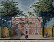 RISCH-54-1 Huis te Krooswijk, aan de oostzijde (voorgevel). Aan de Linker Rottekade.