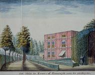 RISCH-55-2 Huis te Krooswijk, aan de zuidzijde aan de Linker Rottekade.