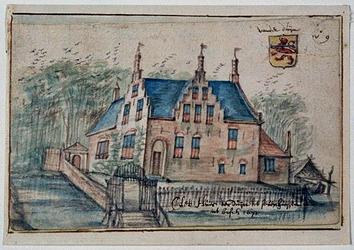 RISCH-57 Het huis ter duijn tot sevenhuijsen int bosch 1671 Zevenhuizen, Huis ter Duin.