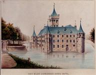 RISCH-64 Het slot Honingen anno 1472.